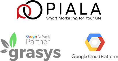 PIALA creative media & marketing system Google for Work Partner grasys Google Cloud Platform